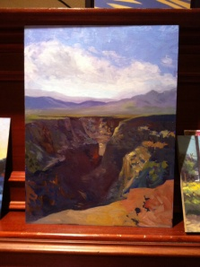 Canyon, Betty C Bowen, Rio Grande Plein Air, Taos
